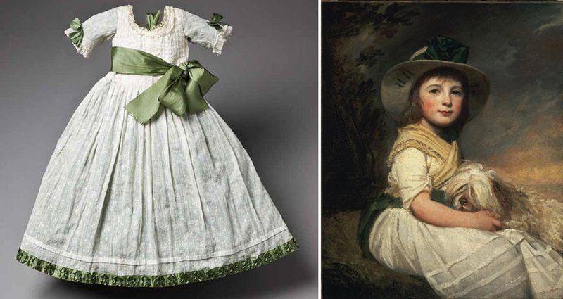 La Petite Fille En Robe Blanche